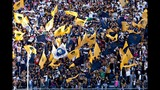 Fiesta en la tribuna