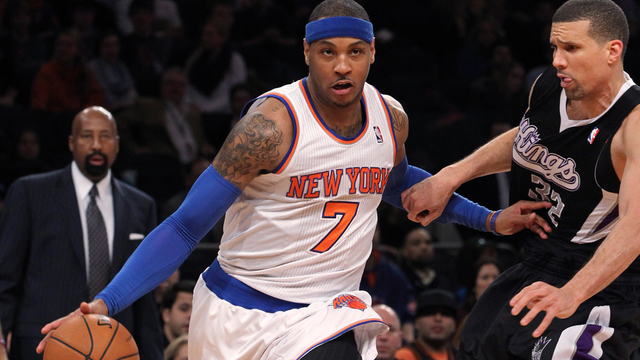 Carmelo Anthony en duda
