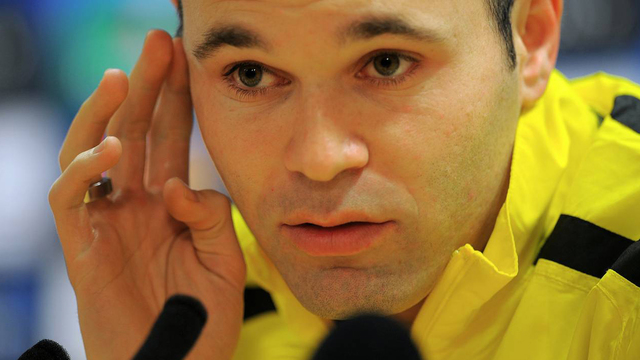 Iniesta conferencia