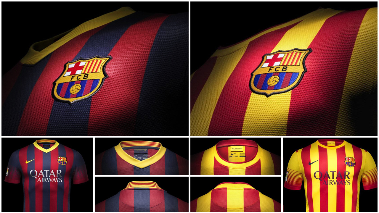 El nuevo uniforme del Barcelona