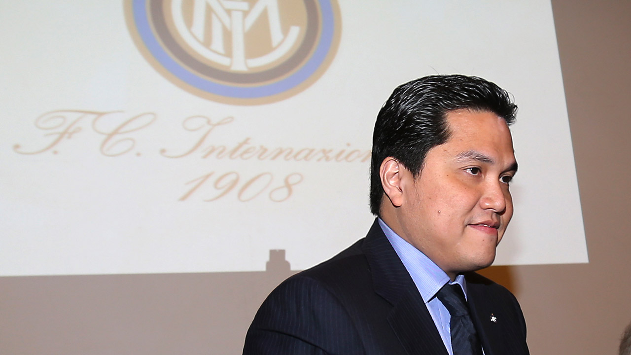 "Berti: ""Thohir needs to spend. Goal next year? Third spot"""