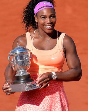 Serena Williams se corona en Roland Garros