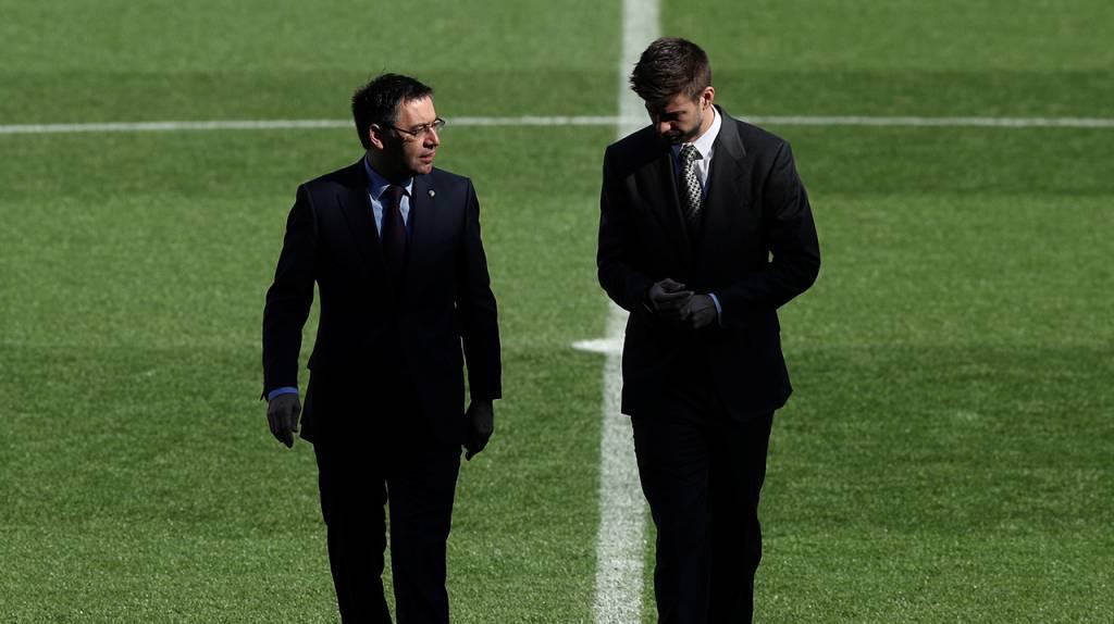 Barcelona: Gerard Piqué rompe el silencio sobre la gestión de Bartomeu