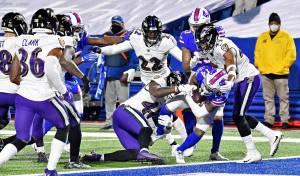 NFL: Ravens dan de baja a Mark Ingram