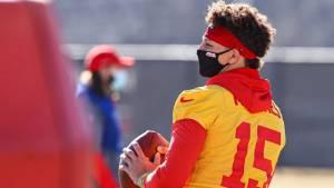 NFL: Los Chiefs respiran tranquilos, Patrick Mahomes en franca mejora